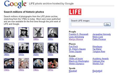 Archivo fotográfico secreto de Life