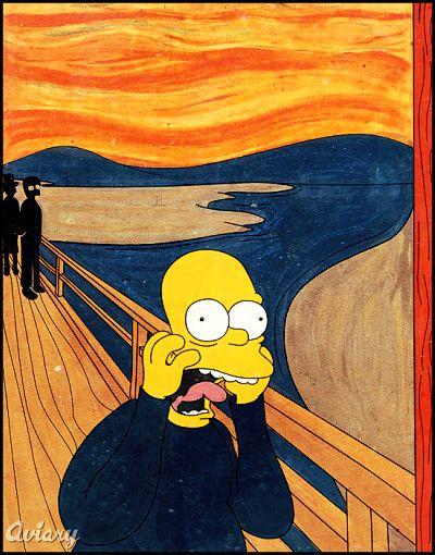 ¿Y si los hubiera dibujado Matt Groening?
