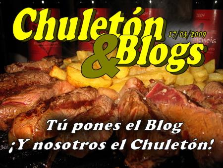 Cucharete presenta Chuletón & Blogs