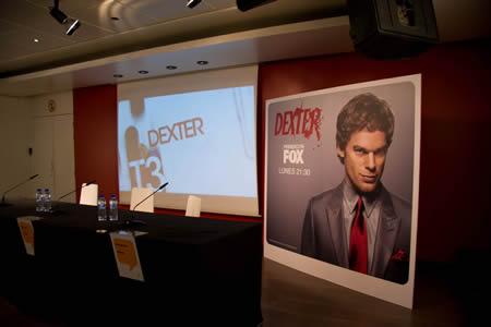 Presentación de la tercera temporada de Dexter en Madrid