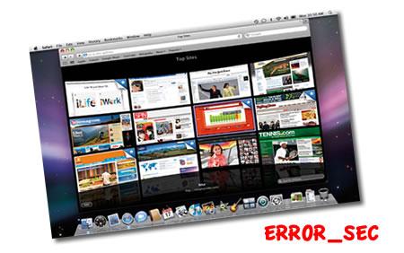 ERROR_SEC en Safari 4