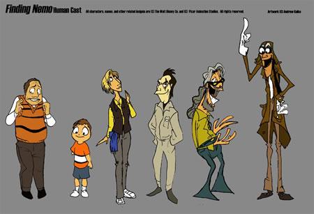 Humanizando personajes de Disney