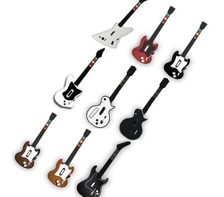 Guitar Hero previstos para el 2009