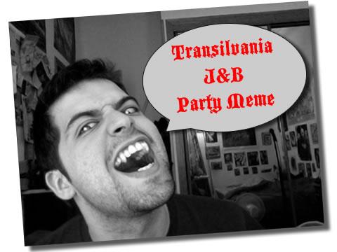 Transilvania J&B Party Meme