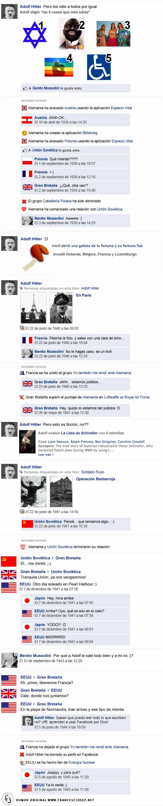Conversaciones en Facebook