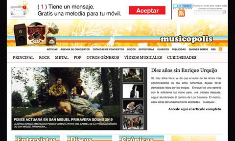 Musicopolis: críticas, reviews y noticias musicales