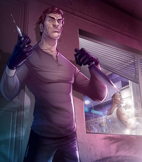 Patrick Brown: dibujando series, películas y videojuegos