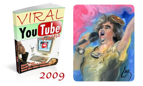 Los vídeos más vistos de YouTube en el 2009