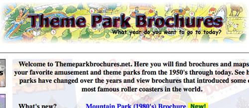 theme-park-brochures