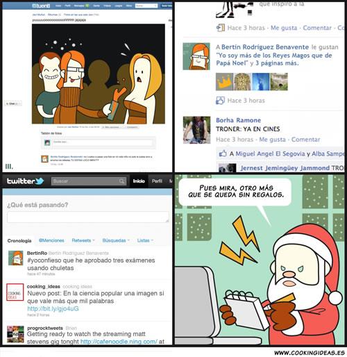 Navidad y redes sociales (Coomic)