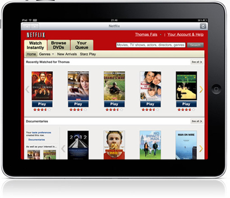 netflix-ipad