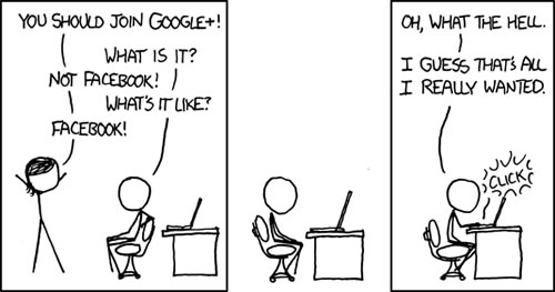 Google+, de ingenieros a sociólogos