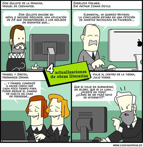 Remakes literarios 2.0 (Coomic)