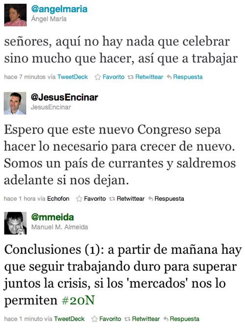 Las perlas de Twitter en las Elecciones Generales 2011