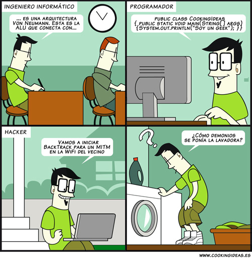 Síndrome del geek selectivo (Coomic)