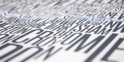 FontMap, mapas tipográficos