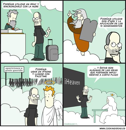 El cielo de Steve Jobs (Coomic)