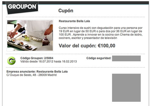 come si compra su groupon