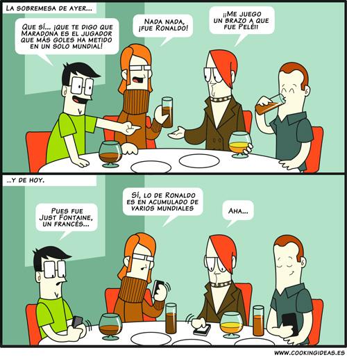 Las sobremesas de antes (Coomic)