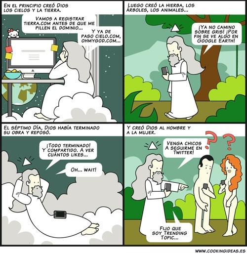 Si Dios hubiera tenido Internet (Coomic)