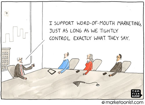 Marketoonist, destapando lo absurdo del marketing