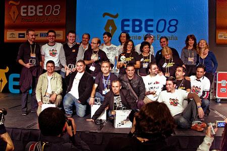 EBE08: Ceremonia de entrega de Premios Bitacoras.com 2008