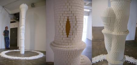 Esculturas con cualquier cosa