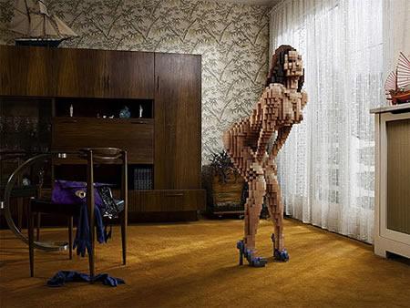 Fotomontajes: Arte del desnudo