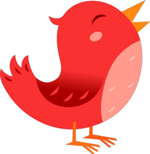 El pajarito de Twitter dibujado por diferentes artistas