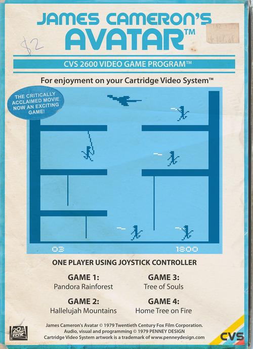 Películas y series en la Atari 2600