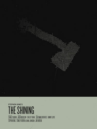 Posters minimalistas de Stephen King