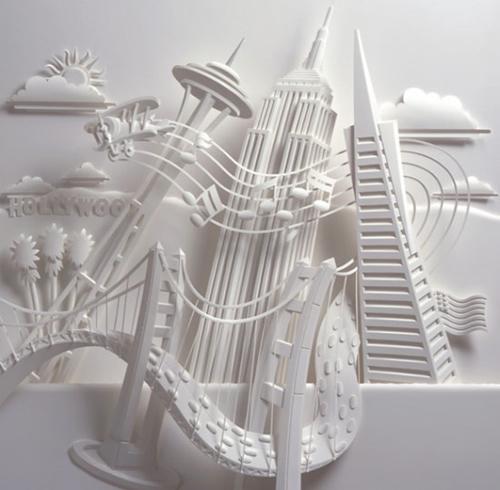 Paper Sculpture - Jeff Nishinaka