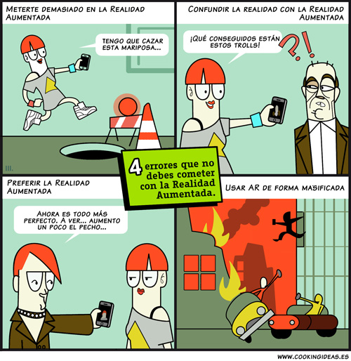 Los peligros de la realidad aumentada (Coomic)