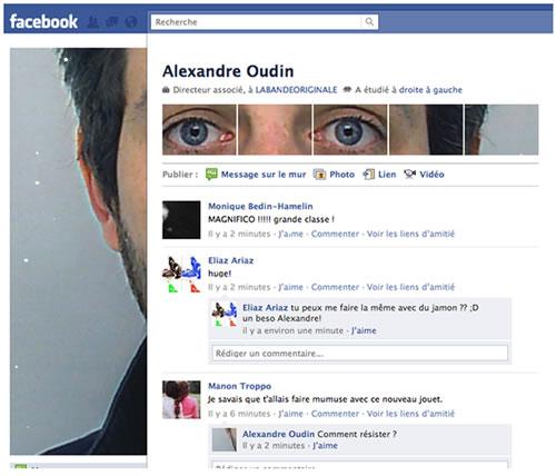 Jugando con los perfiles de Facebook