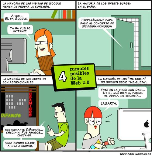 Rumores posibles de la Web 2.0 (Coomic)