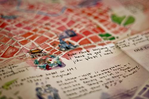 A la Carte Maps - Guías de viaje artísticas
