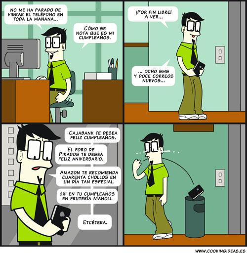 Cumpleaños social (Coomic)