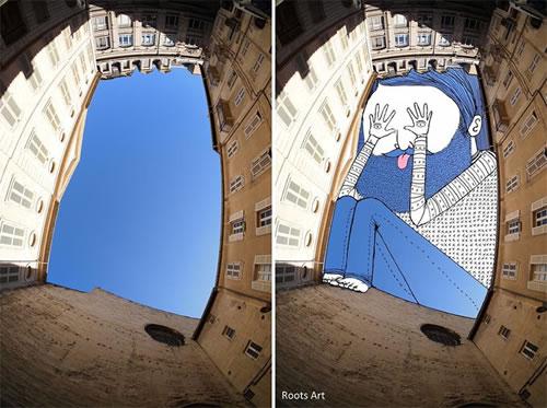 Thomas Lamadieu, ilustrando el cielo de las ciudades