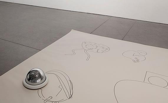 Matthias Dörfelt, dibujando con algoritmos y robots